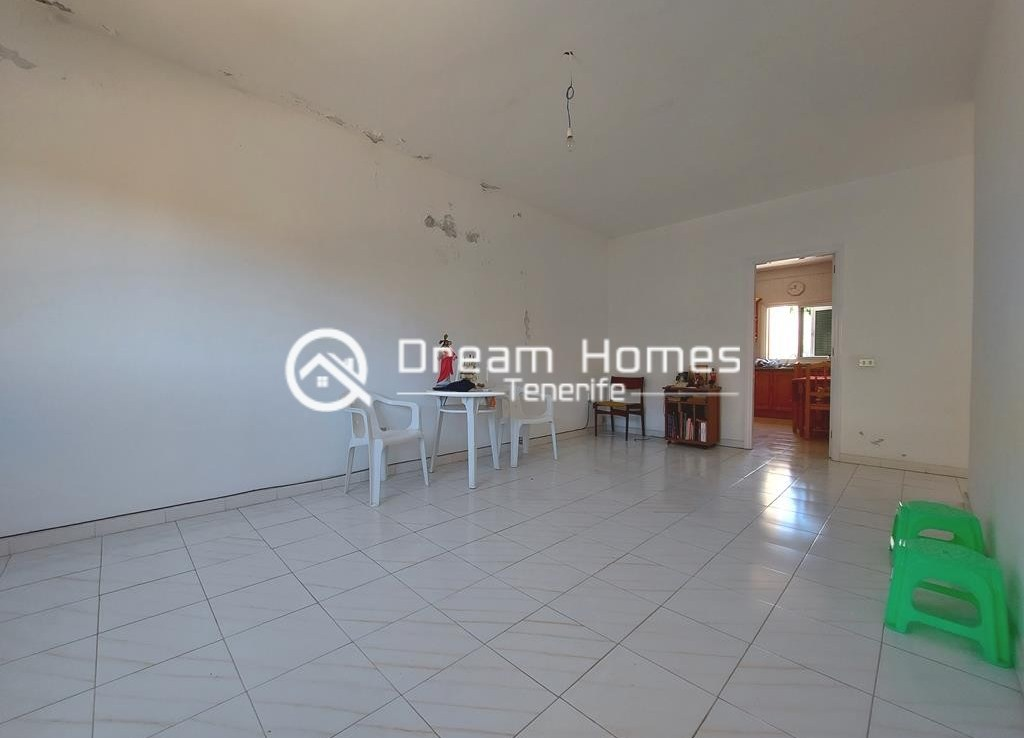 Canarian Style House with 2 Commercial Units in Santiago del Teide Living Room Real Estate Dream Homes Tenerife