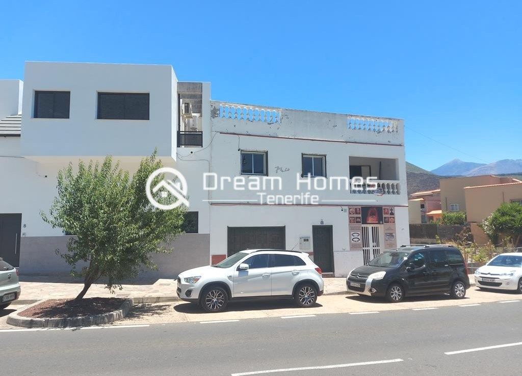 Canarian Style House with 2 Commercial Units in Santiago del Teide Views Real Estate Dream Homes Tenerife