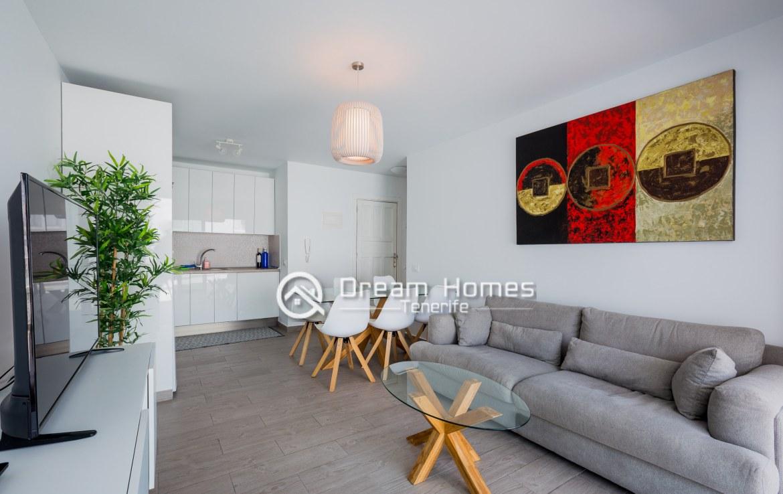 Modern Apartment in Concanasa Los Gigantes Living Room Real Estate Dream Homes Tenerife