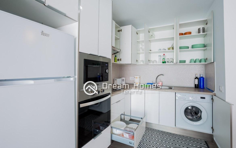 Modern Apartment in Concanasa Los Gigantes Kitchen Real Estate Dream Homes Tenerife