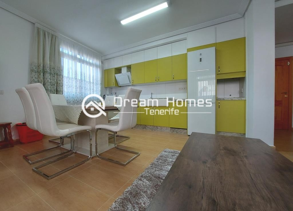 Fully Furnished Three Bedroom Apartment in Alcala Dining Area Real Estate Dream Homes Tenerife