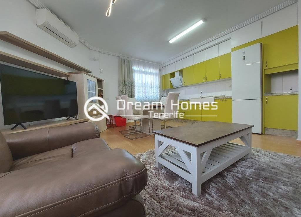 Fully Furnished Three Bedroom Apartment in Alcala Living Room Real Estate Dream Homes Tenerife