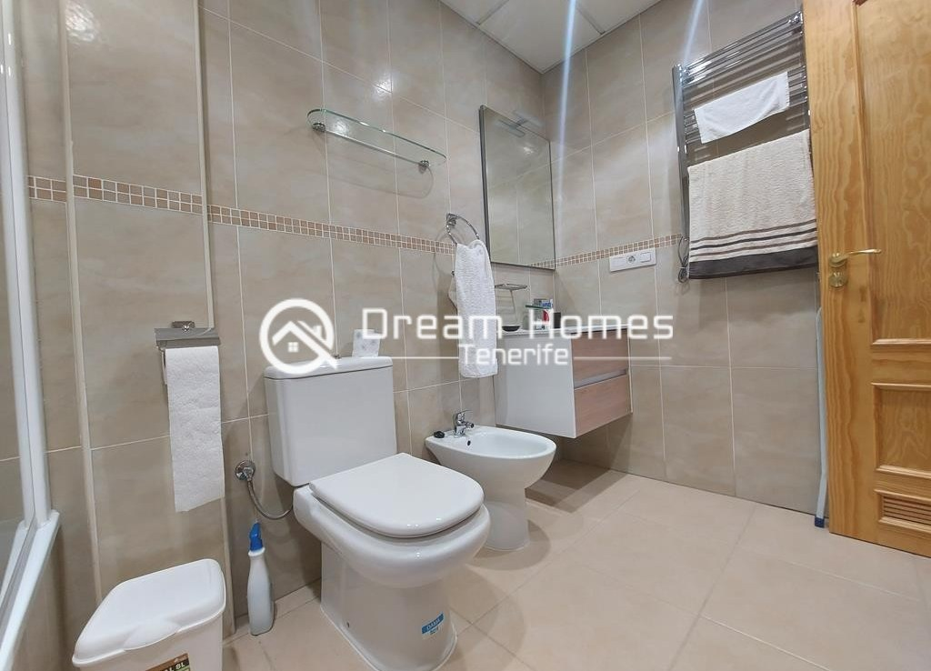 Fully Furnished Three Bedroom Apartment in Alcala Bathroom Real Estate Dream Homes Tenerife