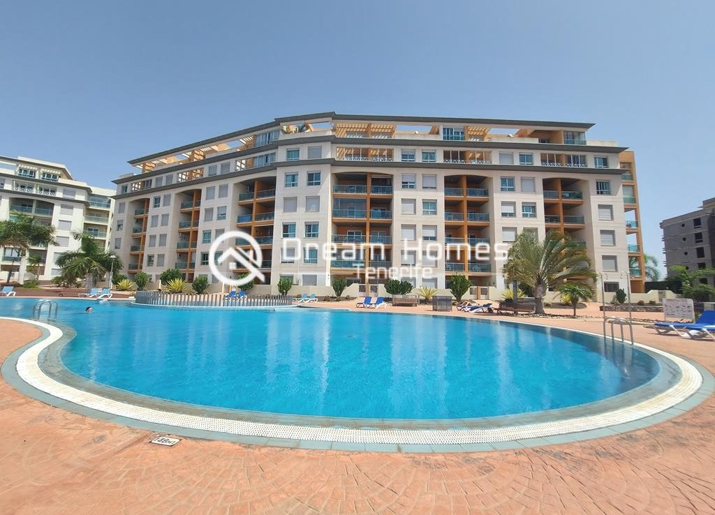 Fully Furnished Two Bedroom Apartment in Golf del Sur Pool Real Estate Dream Homes Tenerife