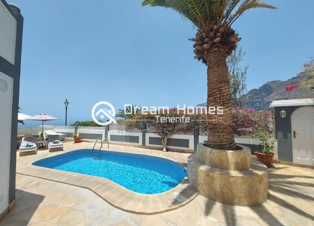 Luxury Boutique Style 3 Bedroom Villa in Los Gigantes Pool Real Estate Dream Homes Tenerife
