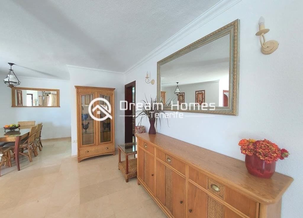 Luxury Boutique Style 3 Bedroom Villa in Los Gigantes Living Room Real Estate Dream Homes Tenerife