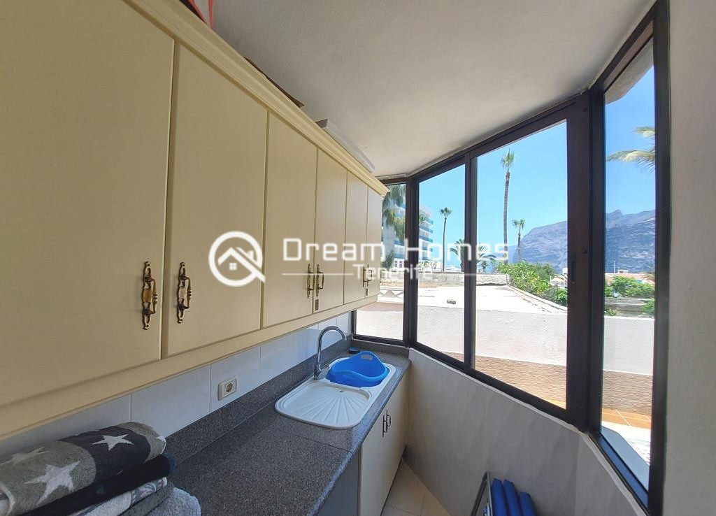 Spectacular Three Bedroom Townhouse with Oceanview and Pool Kitchen Real Estate Dream Homes Tenerife