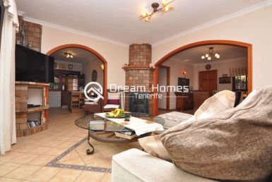 Stunning View One Bedroom Apartment in Los Gigantes Living Room Real Estate Dream Homes Tenerife