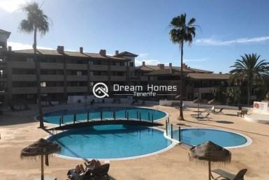 Two Bedroom Apartment in Playa Paraiso Pool Real Estate Dream Homes Tenerife