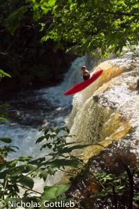 Tripp on Waterfall #2