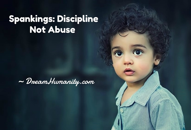 Spankings: Discipline Not Abuse
