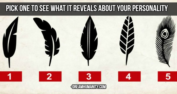 Pick a Feather, Discover What It Says About Your Personality. This Will Surprise You!