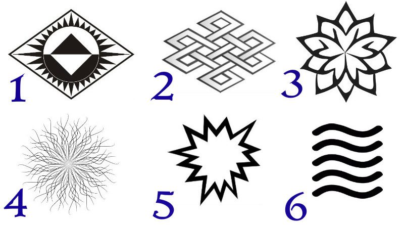 The Symbol You Pick Out Of These 6 Has A Spiritual Message For You
