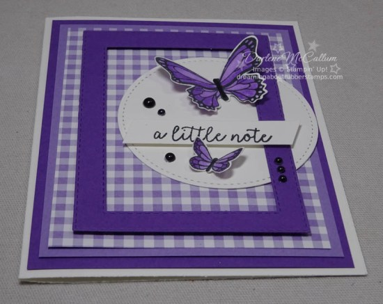 Butterfly Duet Punch by Stampin Up