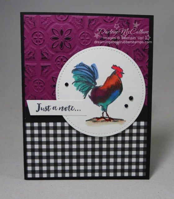 Home to Roost by Stampin Up for Sale A Bration