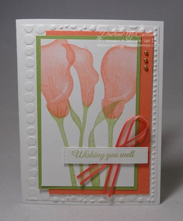 Lasting Lily by Stampin Up