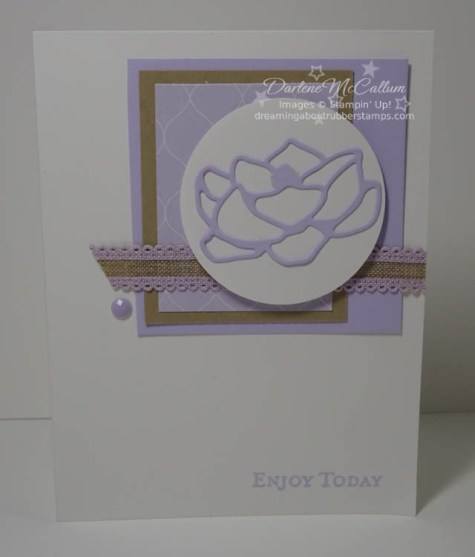 Purple Posy by Stampin Up
