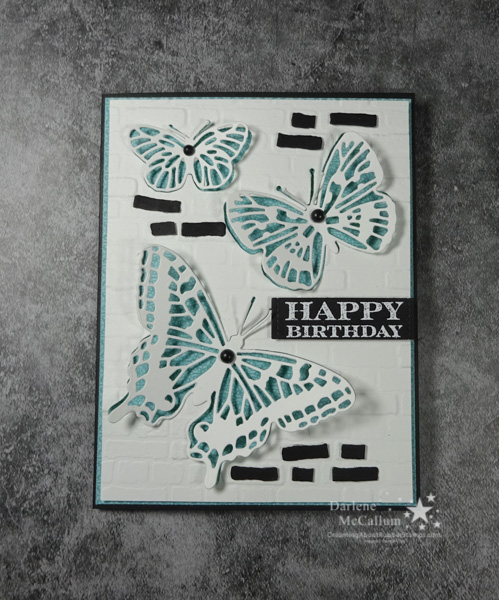 Butterfly Brilliance Stamps and Brilliant Wings Dies