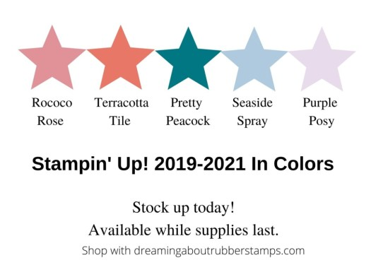 Stampin' Up! In Colors 2019-2021