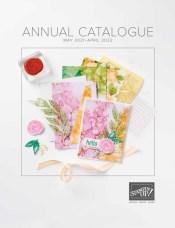 Stampin Up Annual Catalogue May 2021 - April 2022