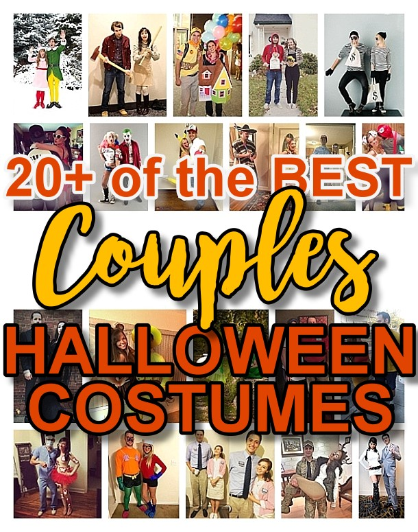 DIY Couples Halloween Costume Ideas - Do it Yourself Handmade Couples Costume Ideas that are SO FUN to make and are sure to be a big hit at Halloween Parties! Your couples friends are going to be so jelly when you with the costume contest at the Halloween Party!