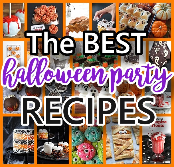 THE BEST Halloween Party Treats - FUN Appetizers and Desserts Recipes