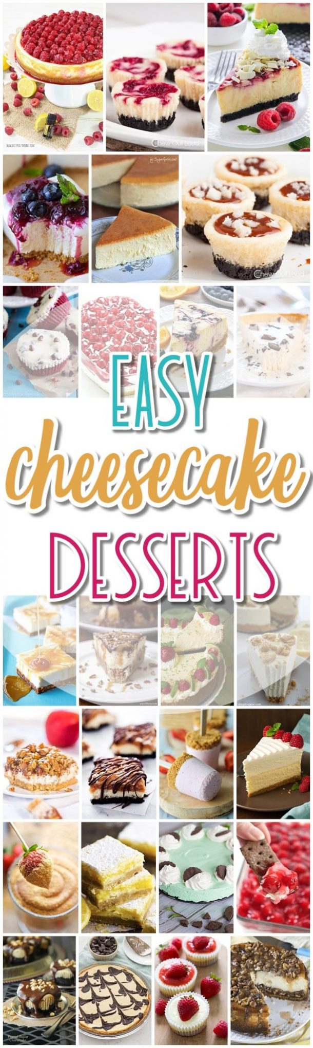 The BEST Cheesecakes Recipes - Favorite Easy Party Desserts for Easter, Mother's Day Brunch or any celebration - Dreaming in DIY