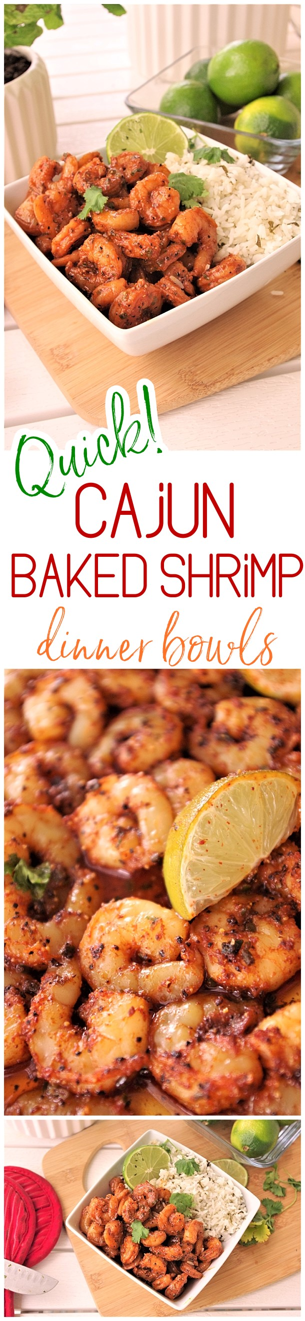 Quick and Easy Cajun Baked Sheet Pan Shrimp Bowls Lunch or Dinner Family Style Recipe - Use it in tacos, meal prep bowls, or over rice or noodles. So versatile and the flavor is so yummy you'll want to eat the entire pan by itself! Dreaming in DIY #30minutemeals #30minutedinners #thirtyminutedinners #30minuterecipes #fastrecipes #easyrecipes #quickrecipes #mealprep #simplefamilymeals #simplefamilyrecipes #simplerecipes