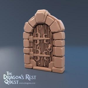 Dungeon Door (Stand Alone)