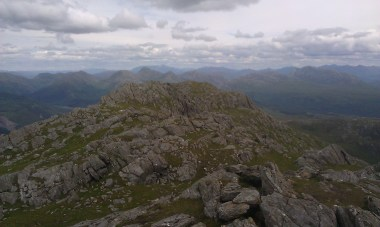 the summit of Ben Resipole