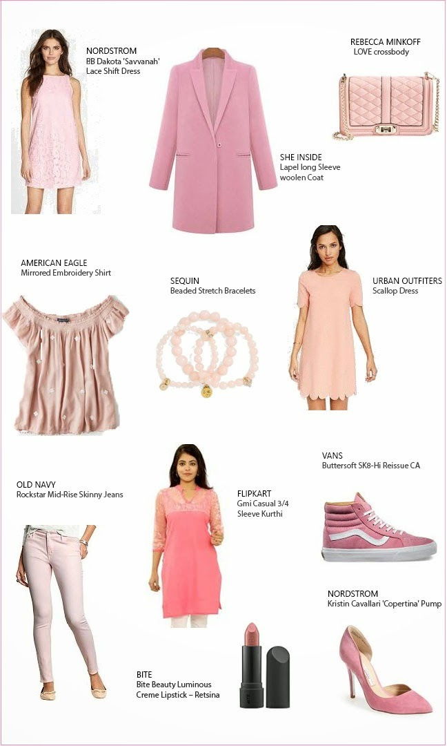 Pink outfits and acesories
