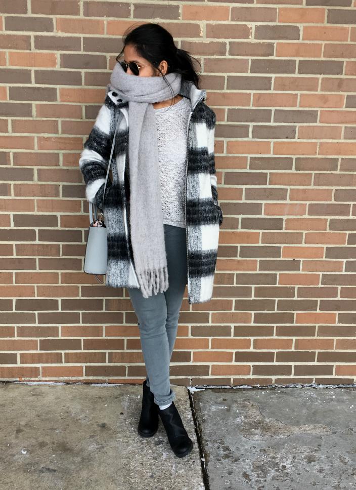 kensie-stand-collar-plaid-coat