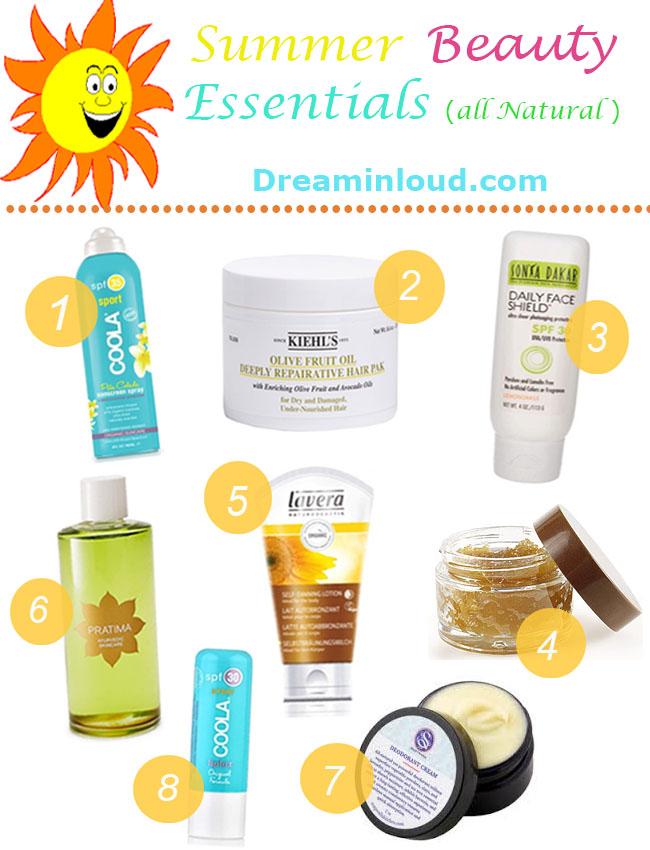 summer-natural-beauty-essentials