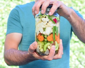 Chopped Salad Pickle from Simplicious