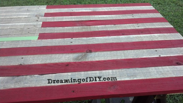 pallet, craft paint