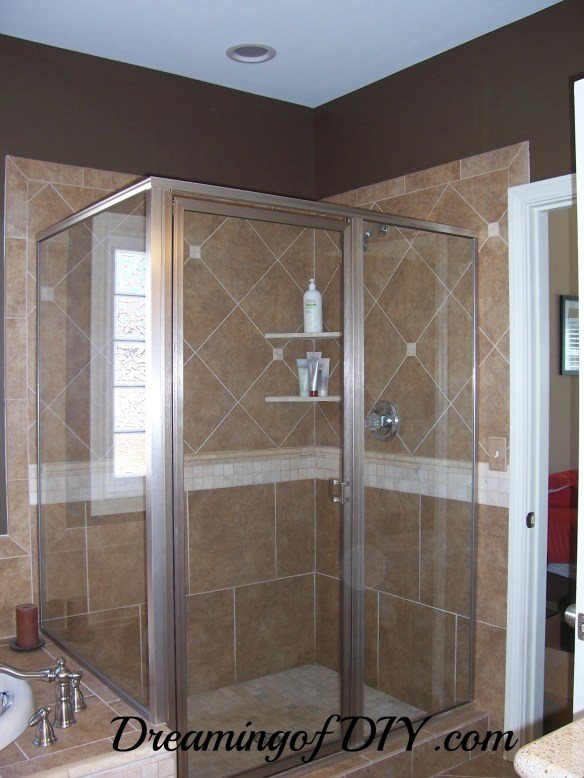 master glass shower