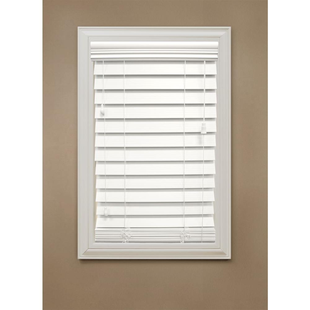 White Blinds, Home Depot, Home Decorators