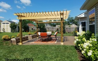The Pergola – Final Phase of our Backyard Makeover