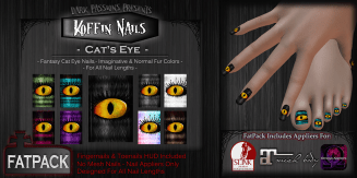 Koffin Nails - Fatpack - Cat's Eye