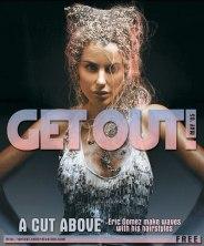 Logo and cover design for GetOut! Entertainment Magazine