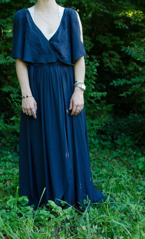 one dress two ways casual maxi dress