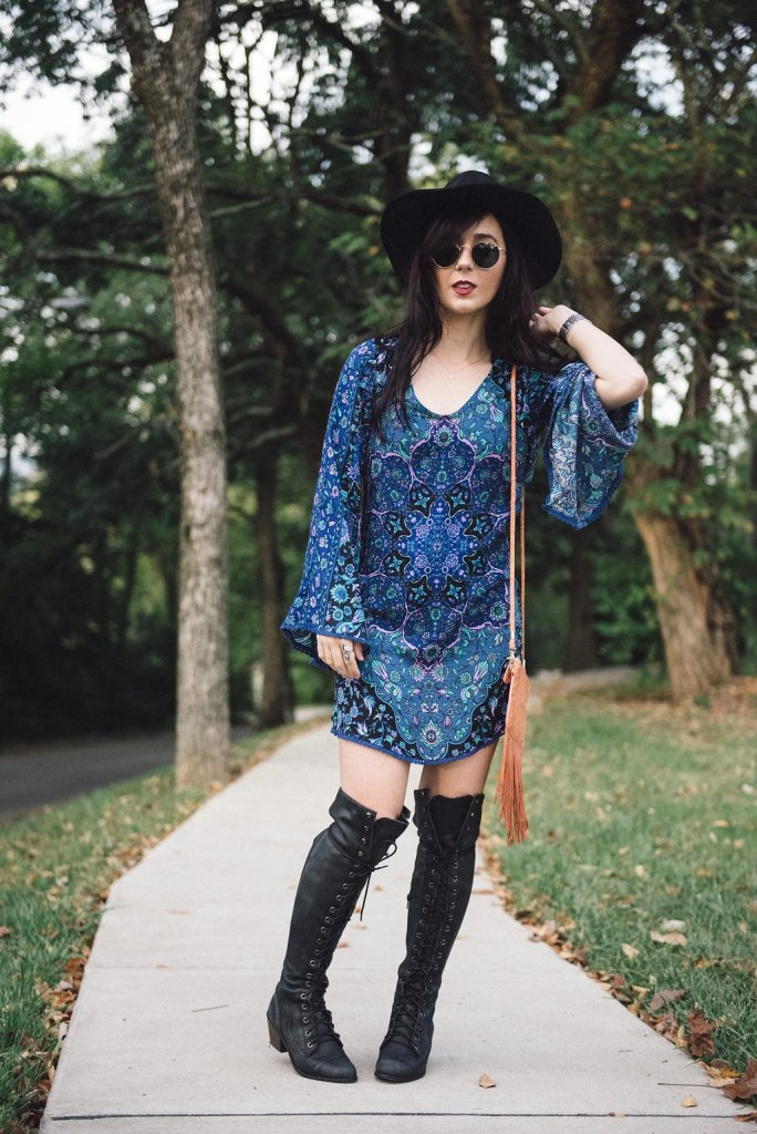 spell and the gypsy kiss the sky mini dress
