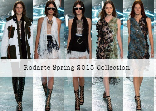 Rodarte Spring 2015 Collection