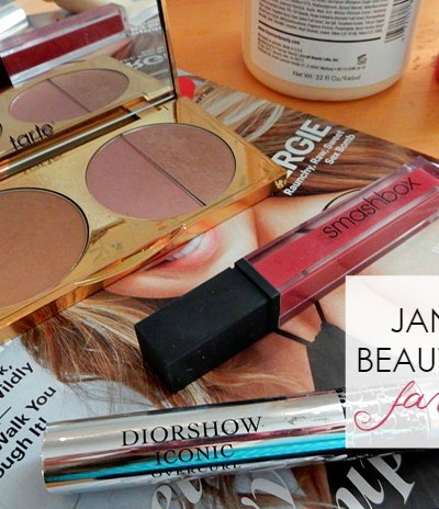 January Beauty and Entertainment Favorites