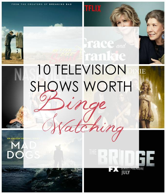 10 Television Shows worth Binge-Watching