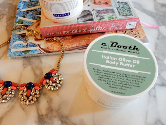 C.Booth Italian Olive Oil Body Butter Review