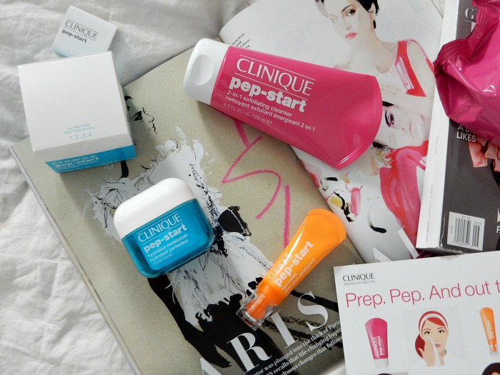 Clinique Pep-Start Skincare Review - Dream in Lace