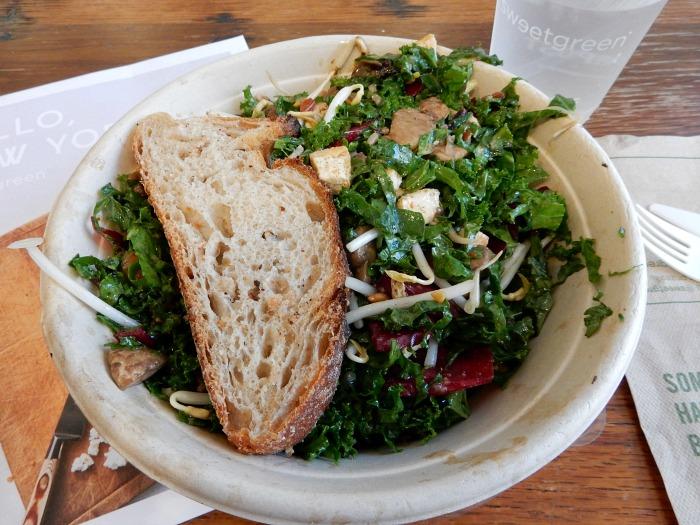 Sweetgreen Vegan Kale Salad in New York City - Food Diary