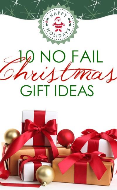 Last Minute Christmas Gift Ideas That Won't Fail
