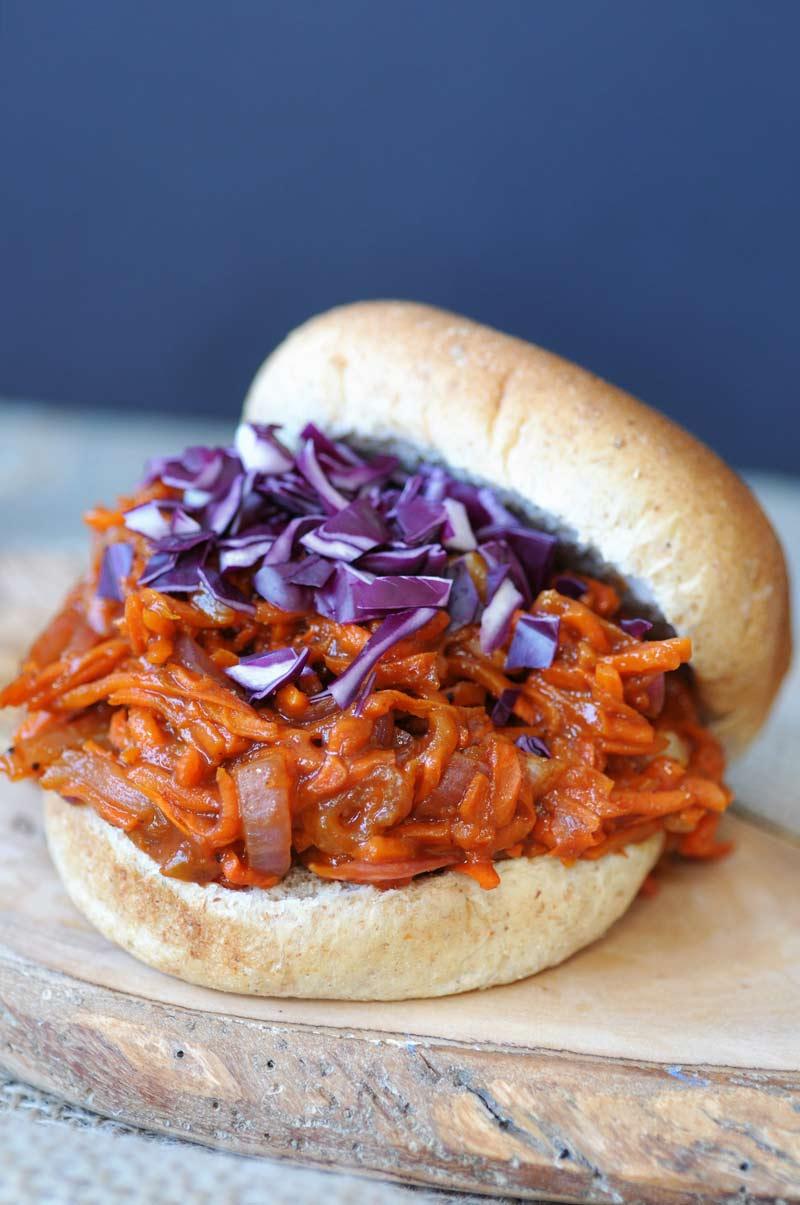 Pulled Barbecue Carrot Recipe - Vegan